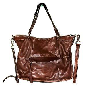 Brown MK Shoulder Bag